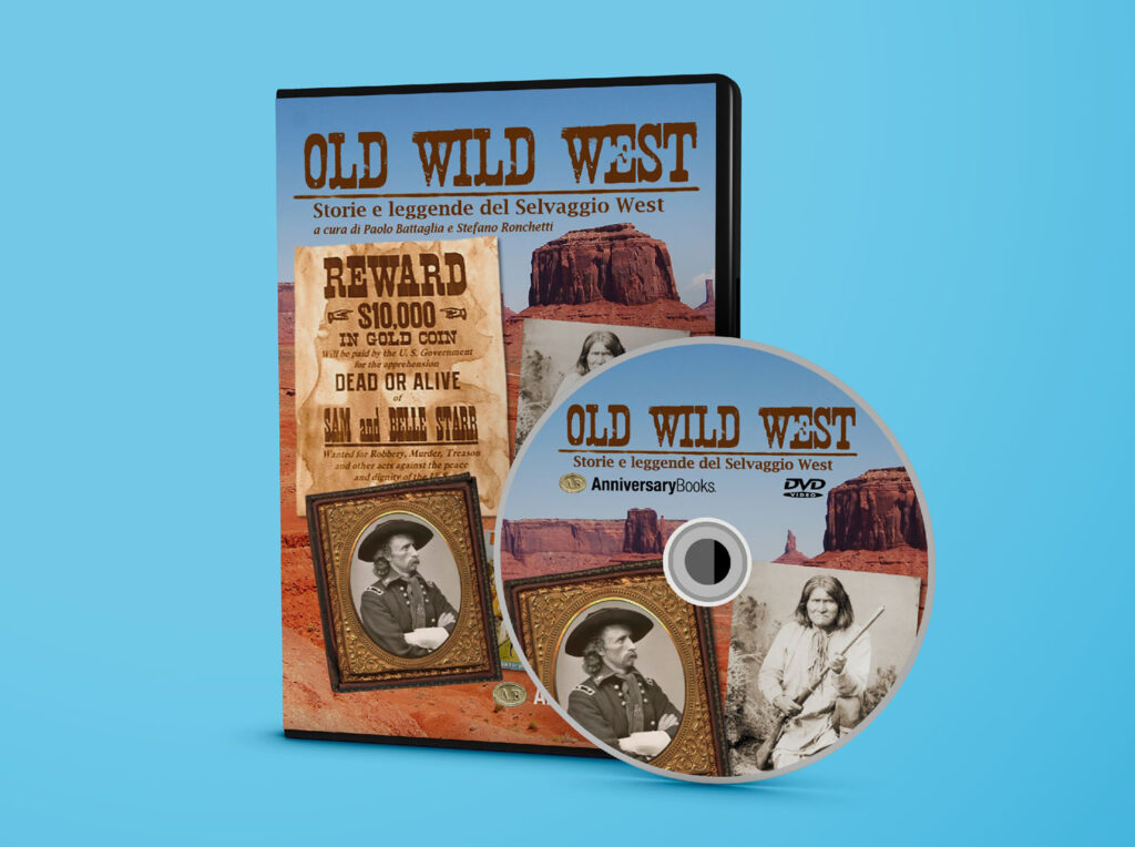 Old Wild West - Book and DVD